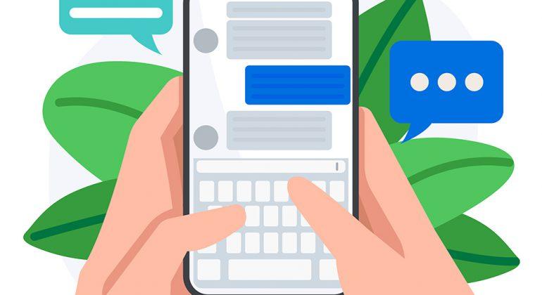 Invio sms